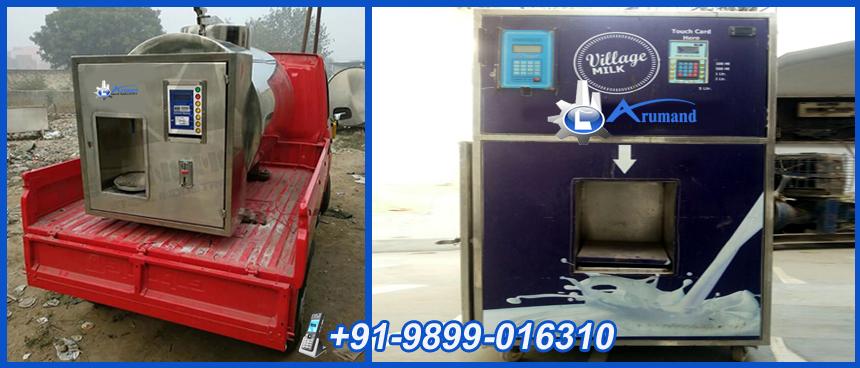 Milk ATM Machine in Agra, Milk Vending Machine in Aligarh